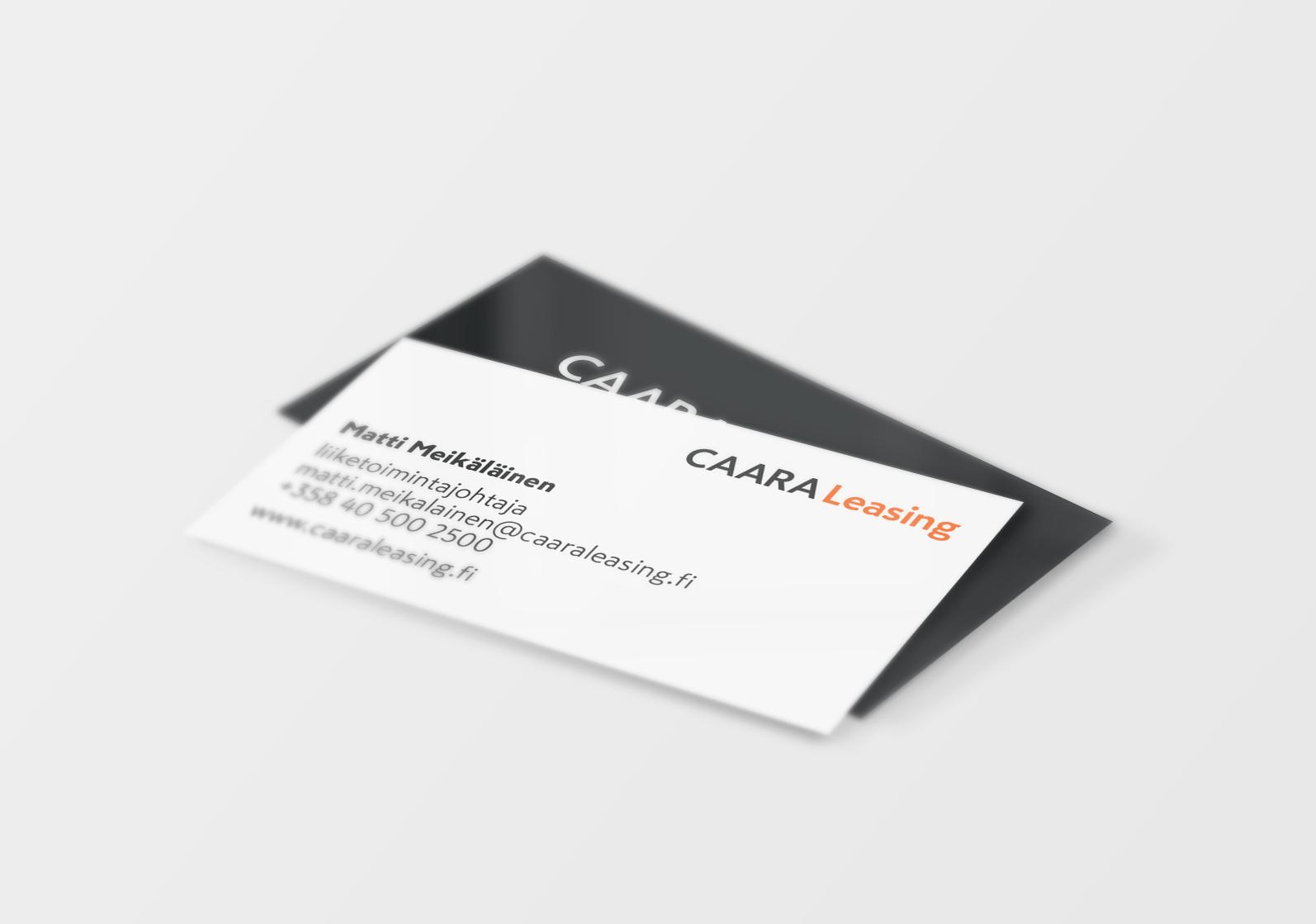 CAARA Leasing Business Card