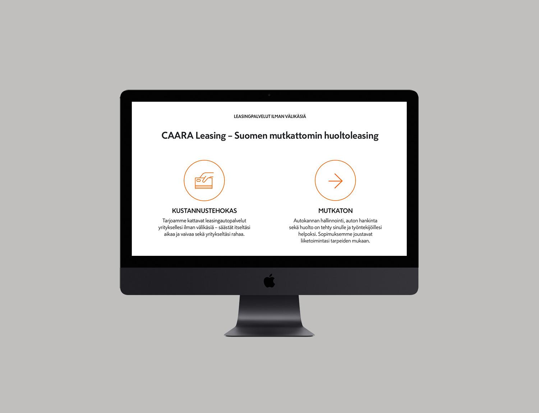 Caara Leasing module view