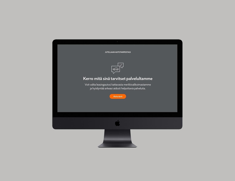 CAARA Leasing website view