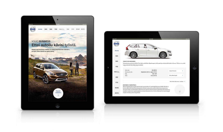 Volvo Business iPad