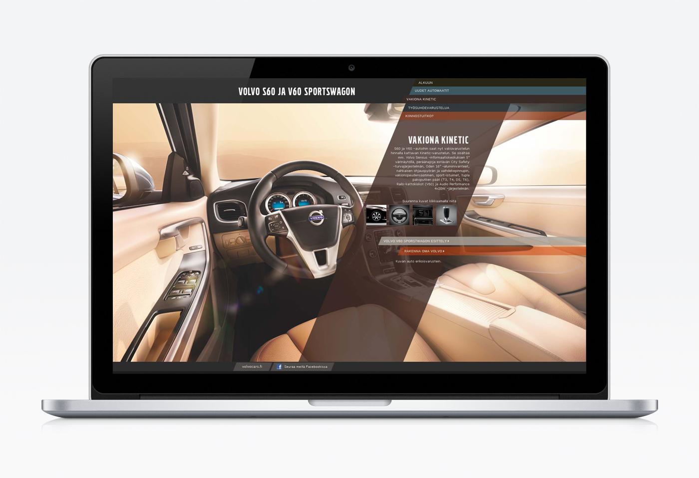 Volvo S60 Launch web