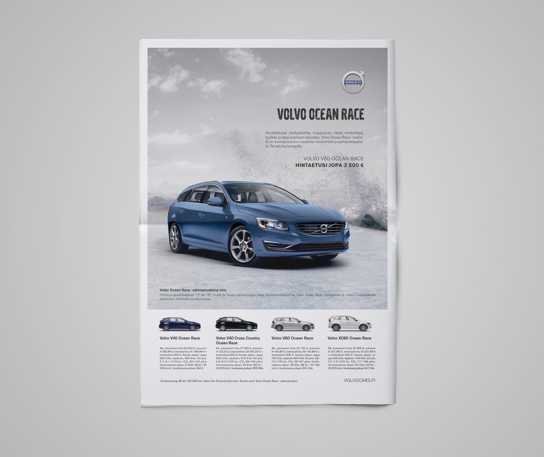 Volvo Ocean Race newspaper