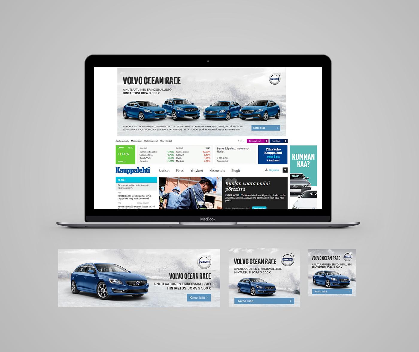 Volvo Ocean Race online