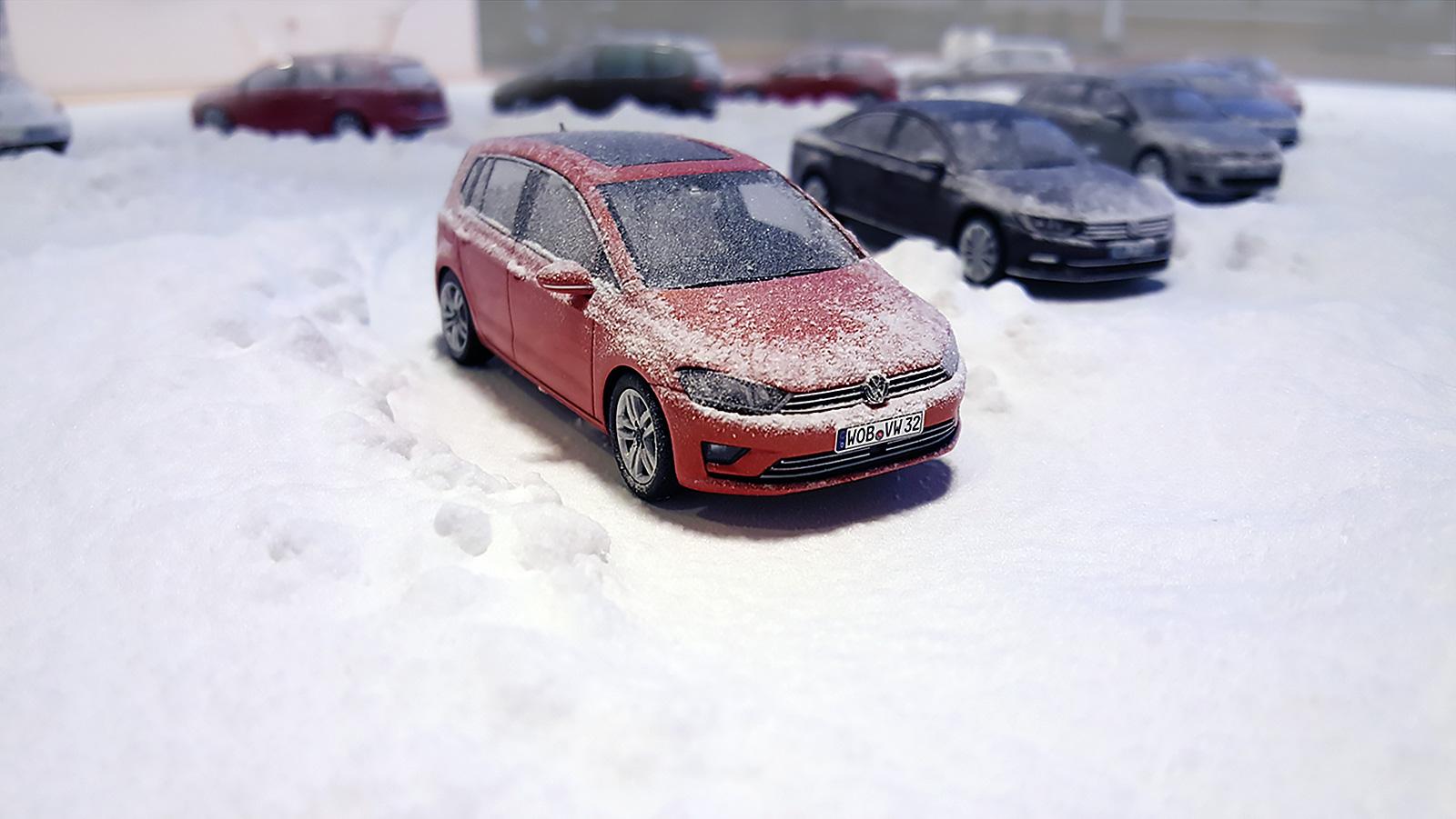 Volkswagen Christmas campaign hero image