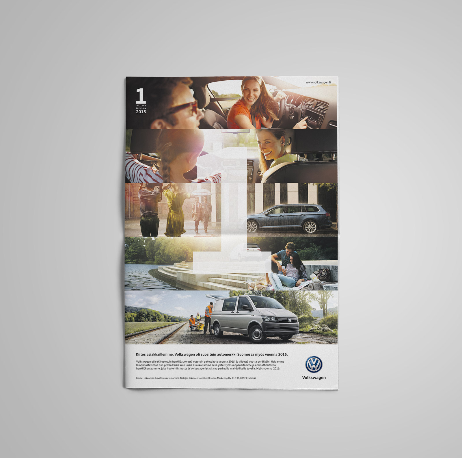 Volkswagen vuoden myydyin newspaper